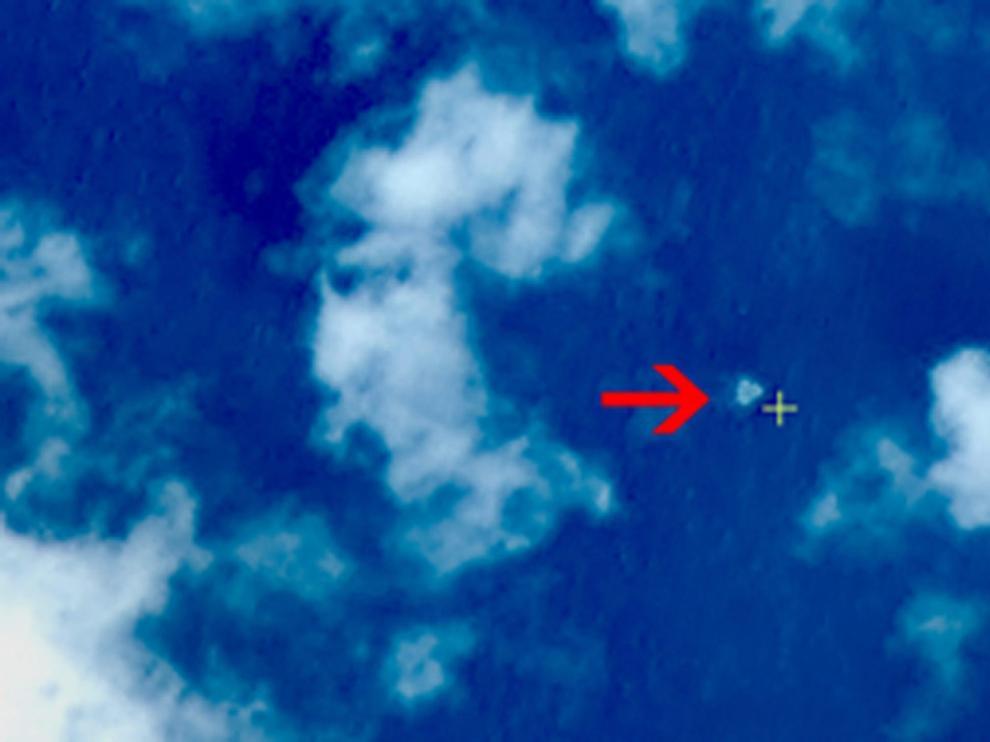 Imágenes obtenidas por el satélite chino