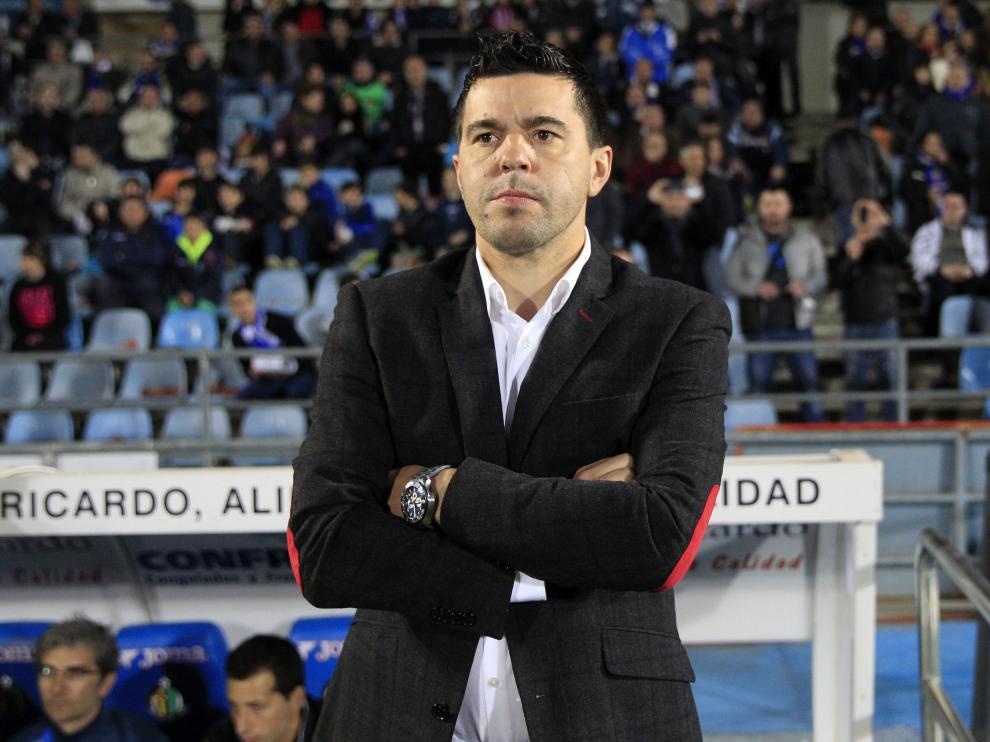 Cosmin Contra, nuevo entrenador del Getafe, no pudo pasar del empate ante el Granada