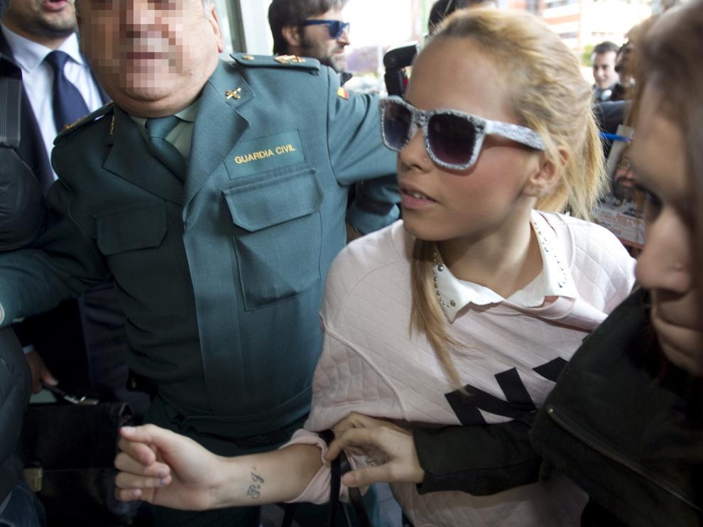 La hija de José Ortega Cano, Gloria Camila Ortega Jurado