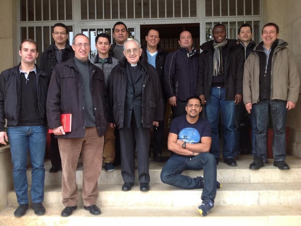 Algunos seminaristas de Zaragoza