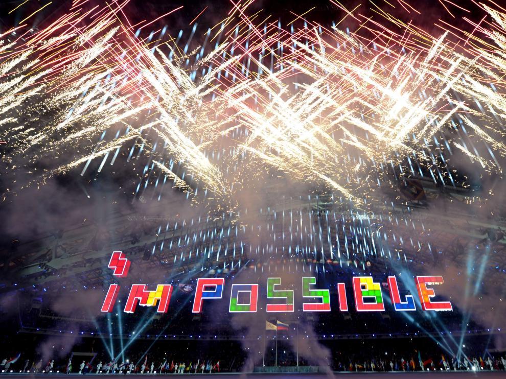 Ceremonia de clausura de los Juegos Paralímpicos de invierno de Sochi