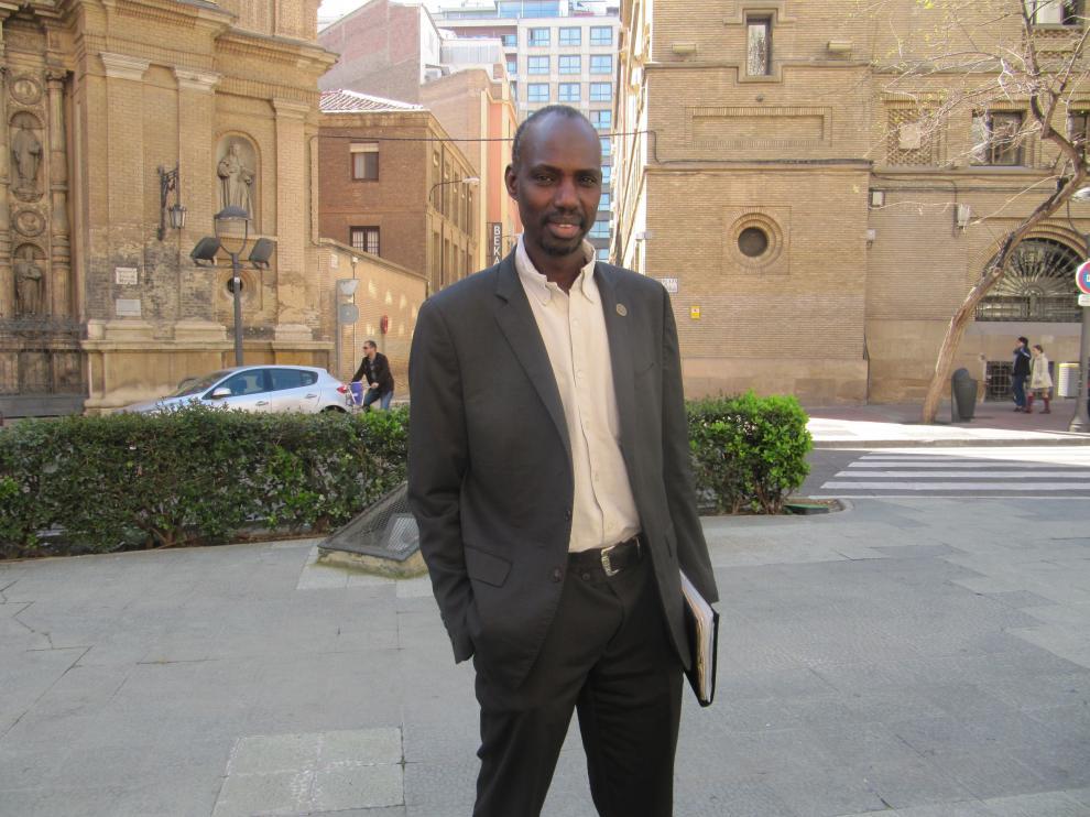 Moussa Fall, en Zaragoza