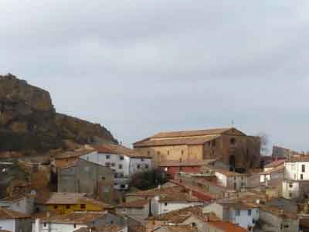 Panorámica de Segura de los Baños, en Teruel.