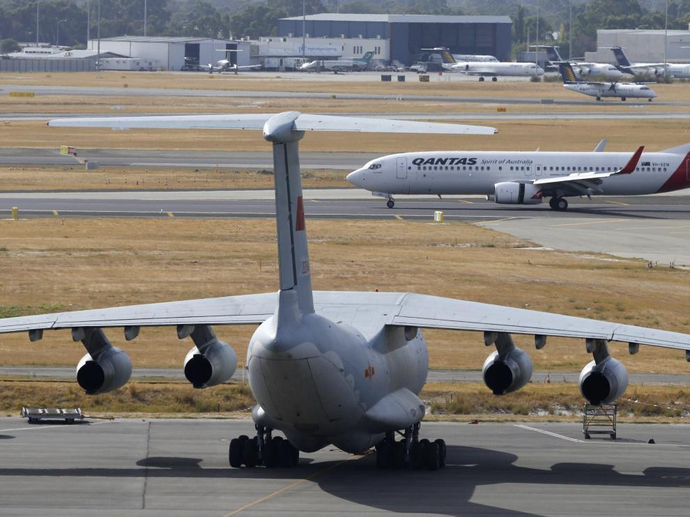 Un avión chino ha observado los restos desde el aire