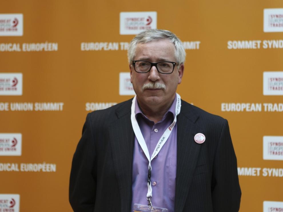 El secretario general de CC.OO., Ignacio Fernández Toxo.