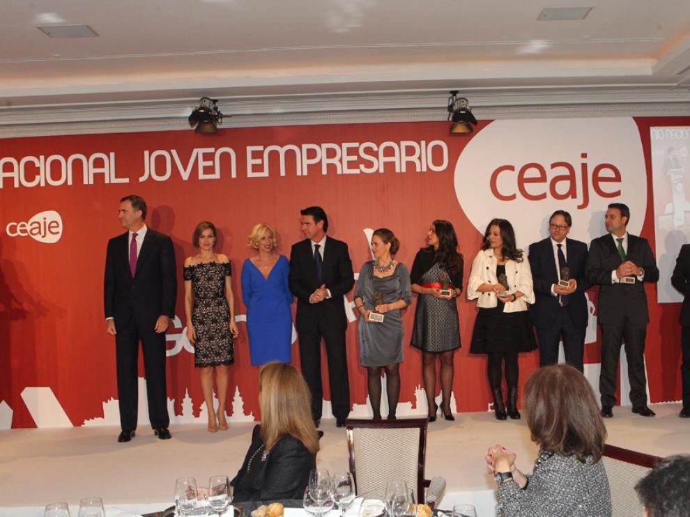 Gala de entrega del Premio Nacional Joven Empresario