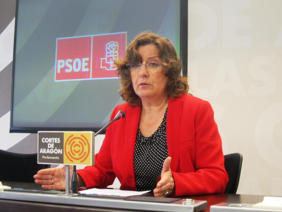 María Victoria Broto, portavoz socialista en Servicios Sociales.