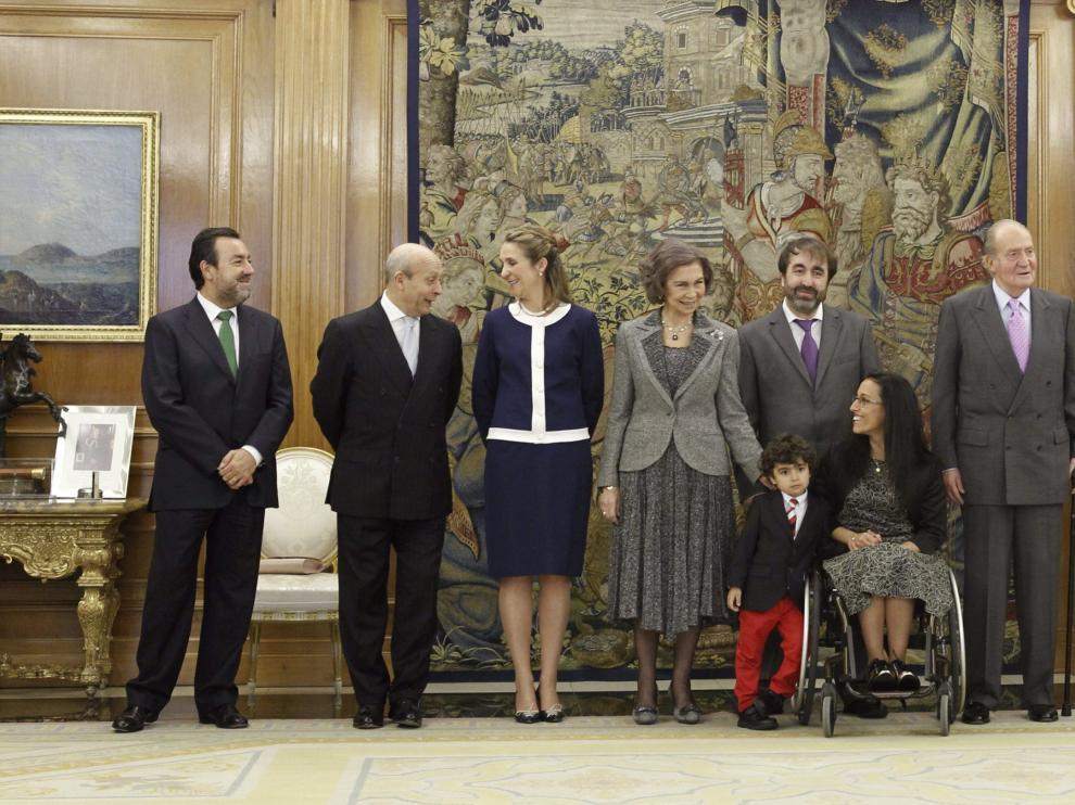 Teresa Perales ha recibido en la Zarzuela la Gran Cruz del Mérito Deportivo
