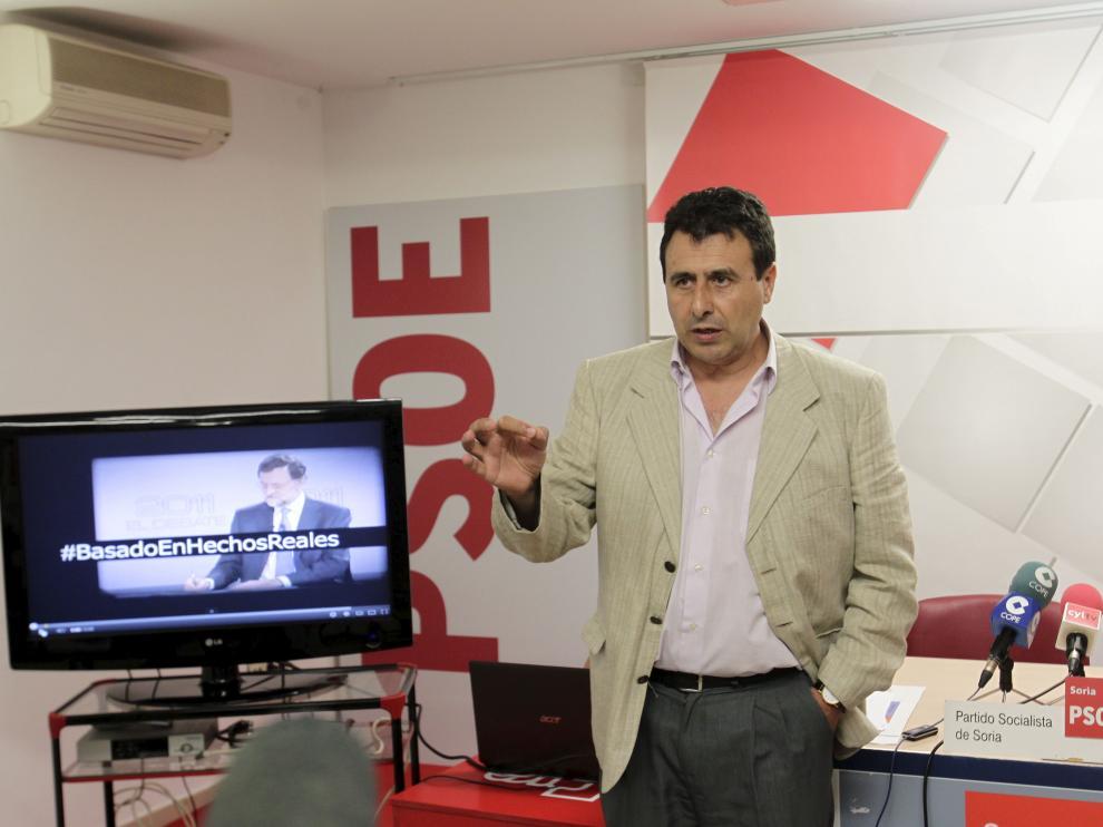 El diputado socialista Félix Lavilla