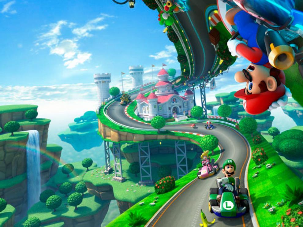 Imagen de Mario Kart 8, el nuevo videojuego para Wii U