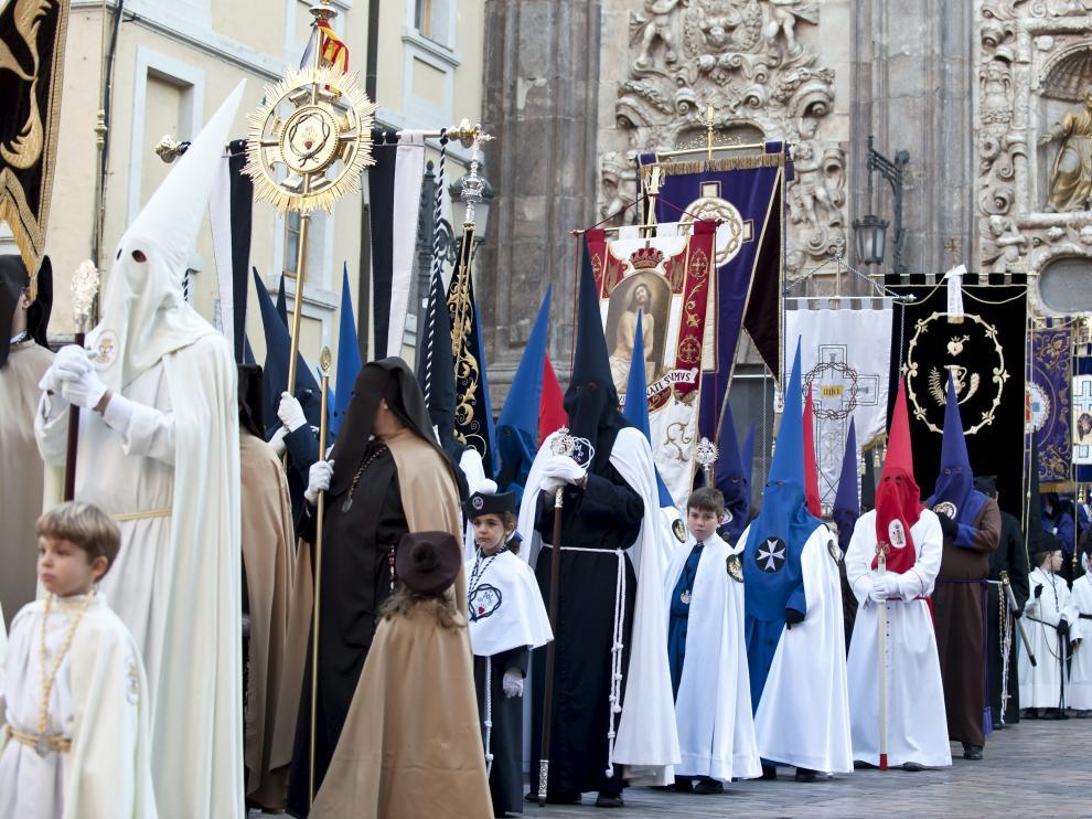 Cofradías de la Semana Santa de Zaragoza.