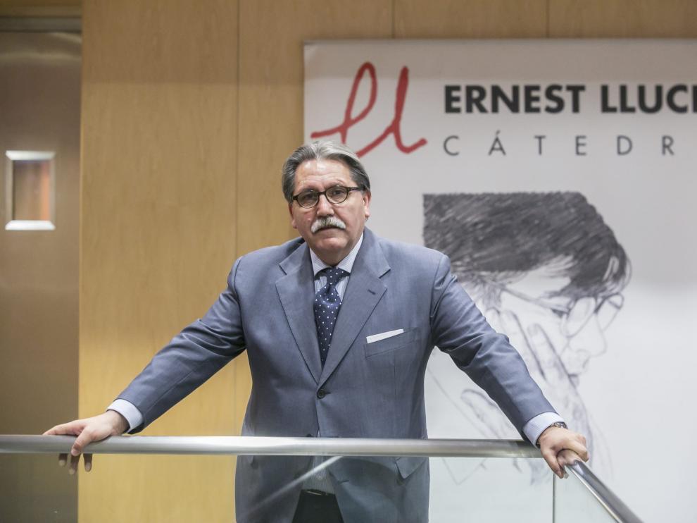 Manuel Teruel en la Cátedra Ernest Lluch
