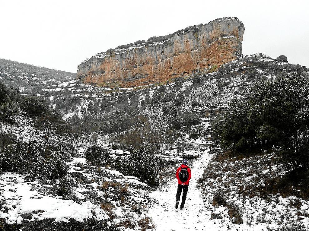 Ruta que va de Aldehuela de Liestos a Torralba de Los Frailes por las hoces del río Piedra