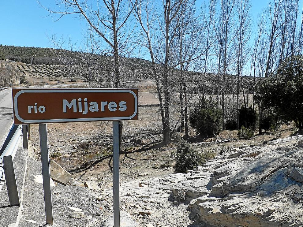 El río Mijares, a su paso por la comarca de Gúdar-Javalambre