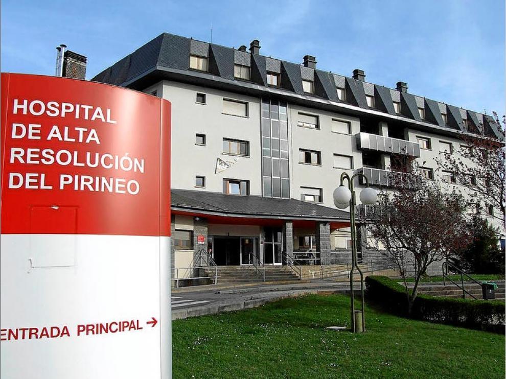 Una imagen del Hospital de Jaca.