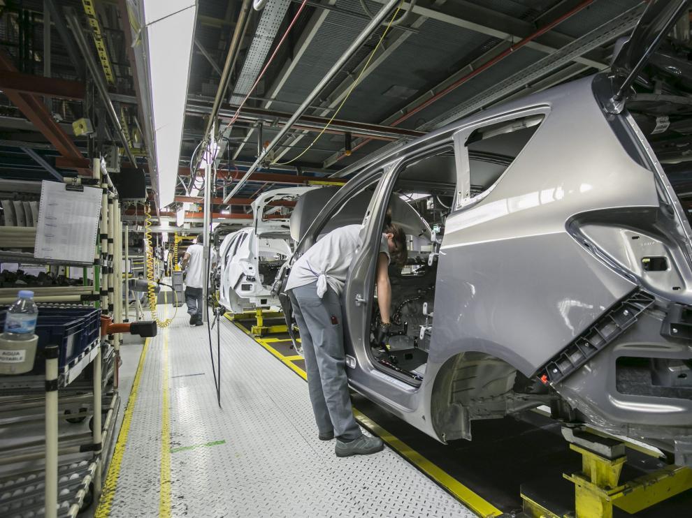La planta de GM, en Figueruelas