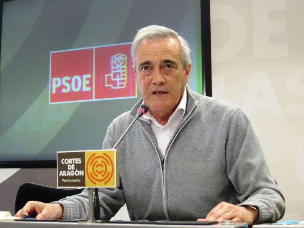 Imagen de archivo de Javier Sada, portavoz socialista