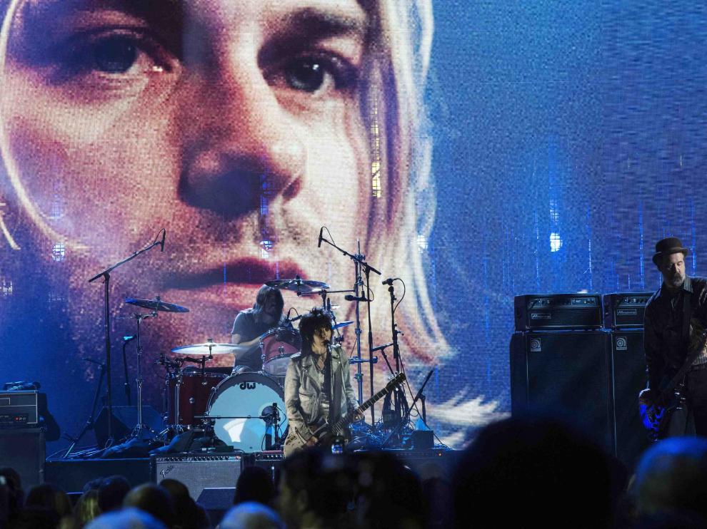 Nirvana homenajeó a Kurt Cobain