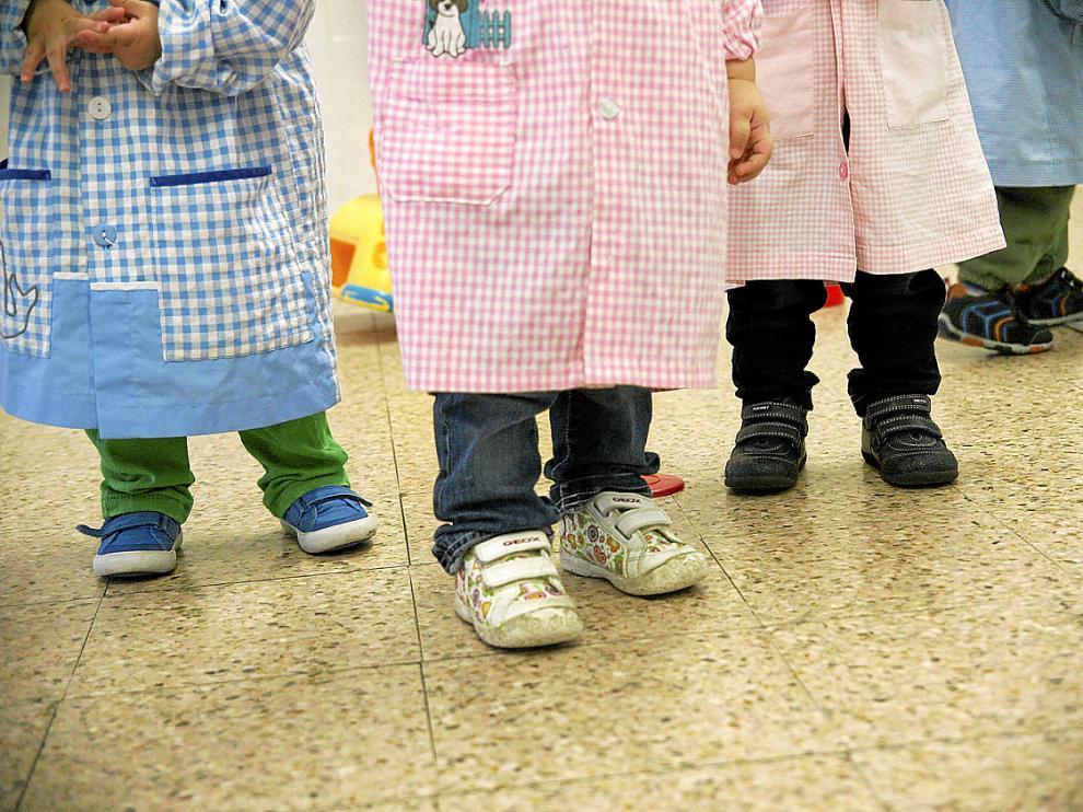 Las escuelas infantiles municipales atienden a niños de 4 a 36 meses