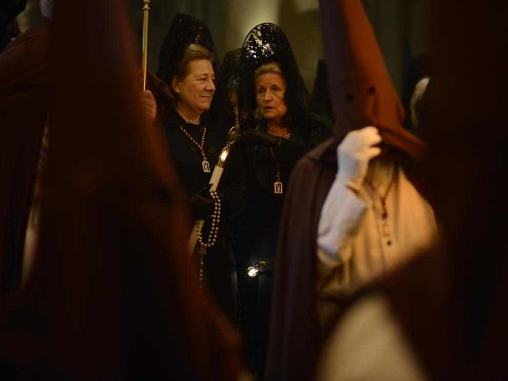 Procesión de Lunes Santo en Zaragoza