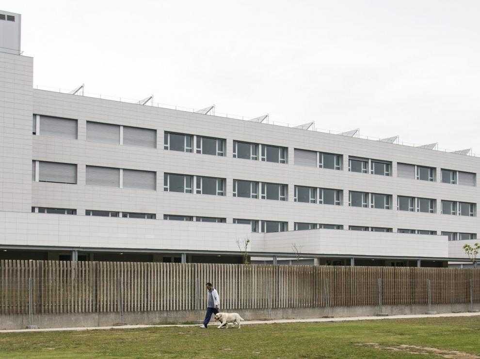 Una imagen de la residencia de Utebo