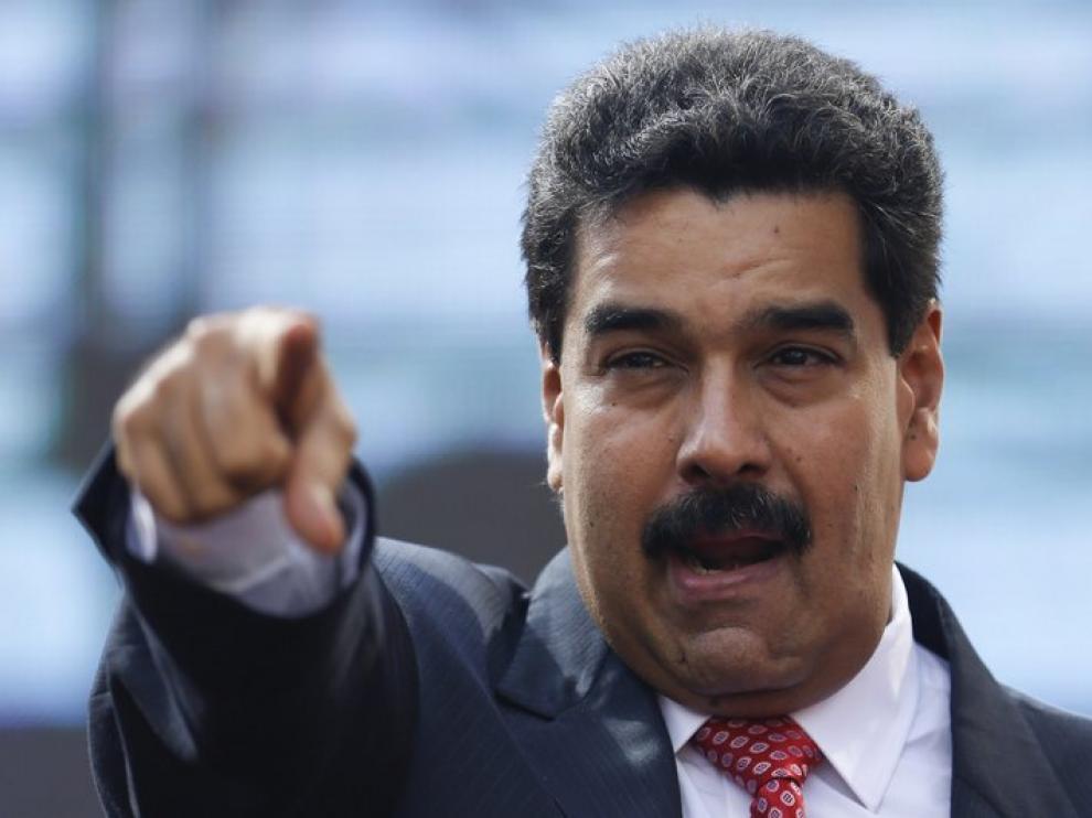Maduro, foto de archivo