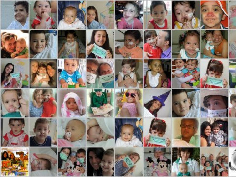 La asociación NUPA, fundada por dos aragoneses, atiende a más de 130 familias con niños afectados por fallo intestinal.
