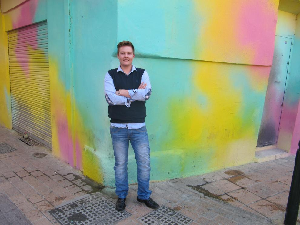 Erik quiere crear una asociación de transexuales en Aragón