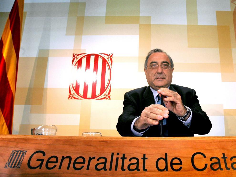 Rueda de prensa de Joaquim Nadal