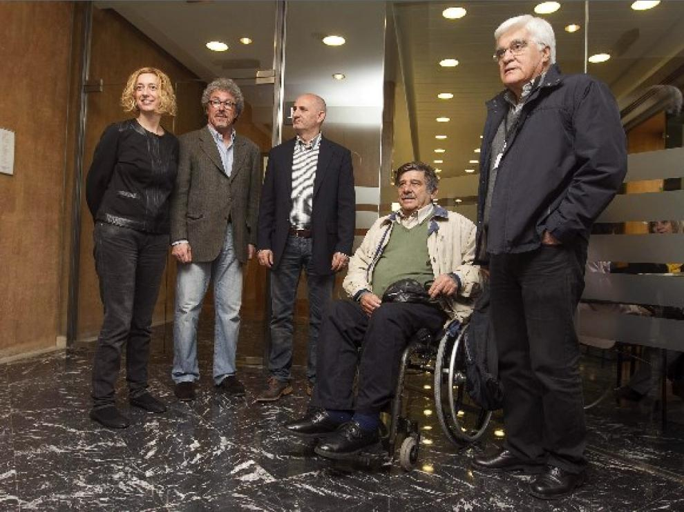 Rueda de prensa de la coordinadora argentina de víctimas del franquismo