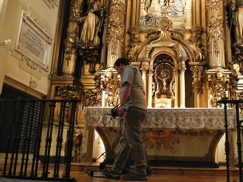 La búsqueda de Cervantes en el convento