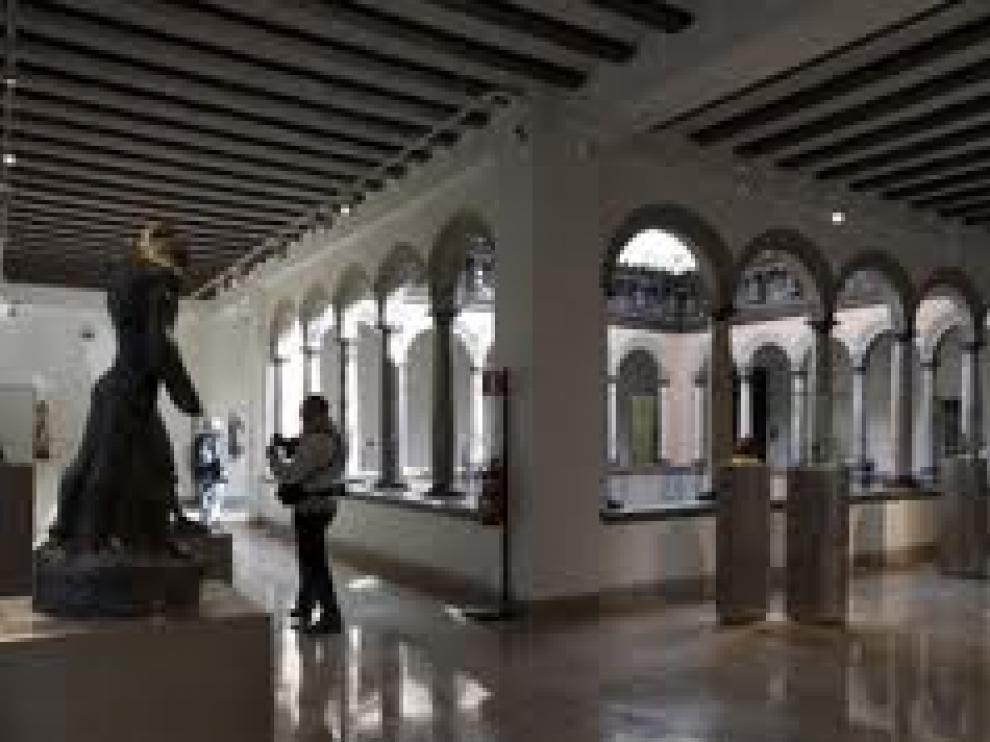 El museo Pablo Gargallo de Zaragoza era uno de los que cobraban entrada.