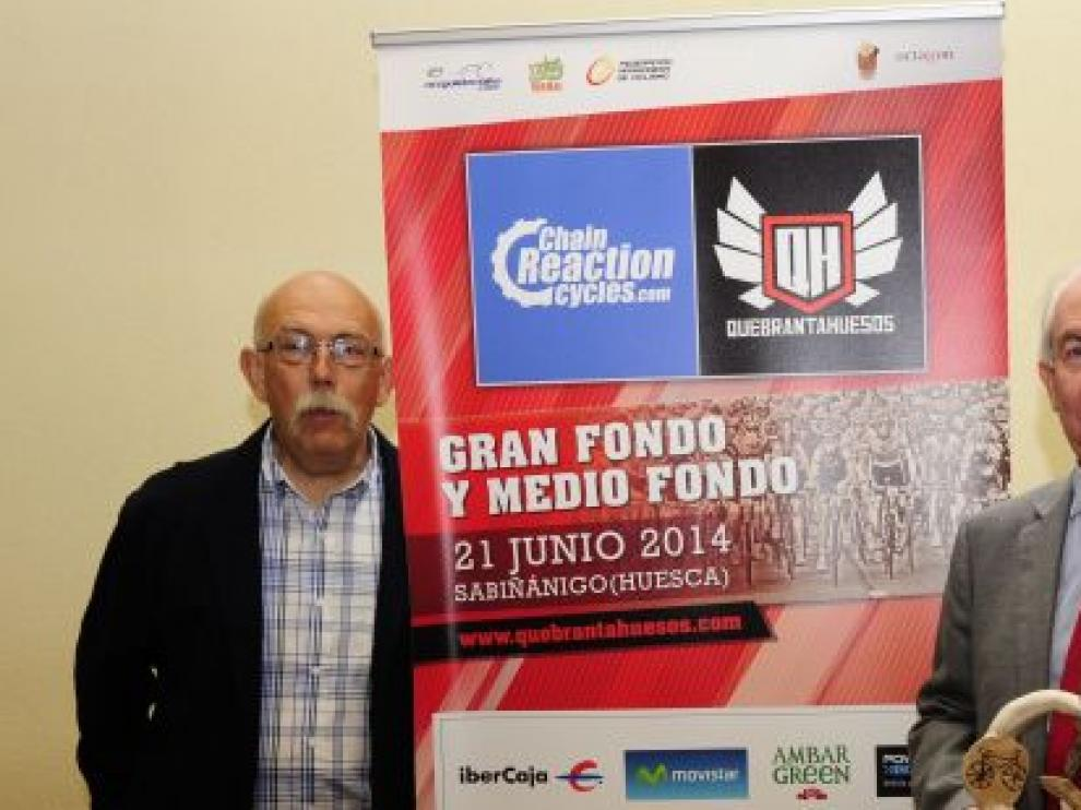 Francisco Bono, Xavier Bartrolí, y Roberto Iglesias, en la presentación