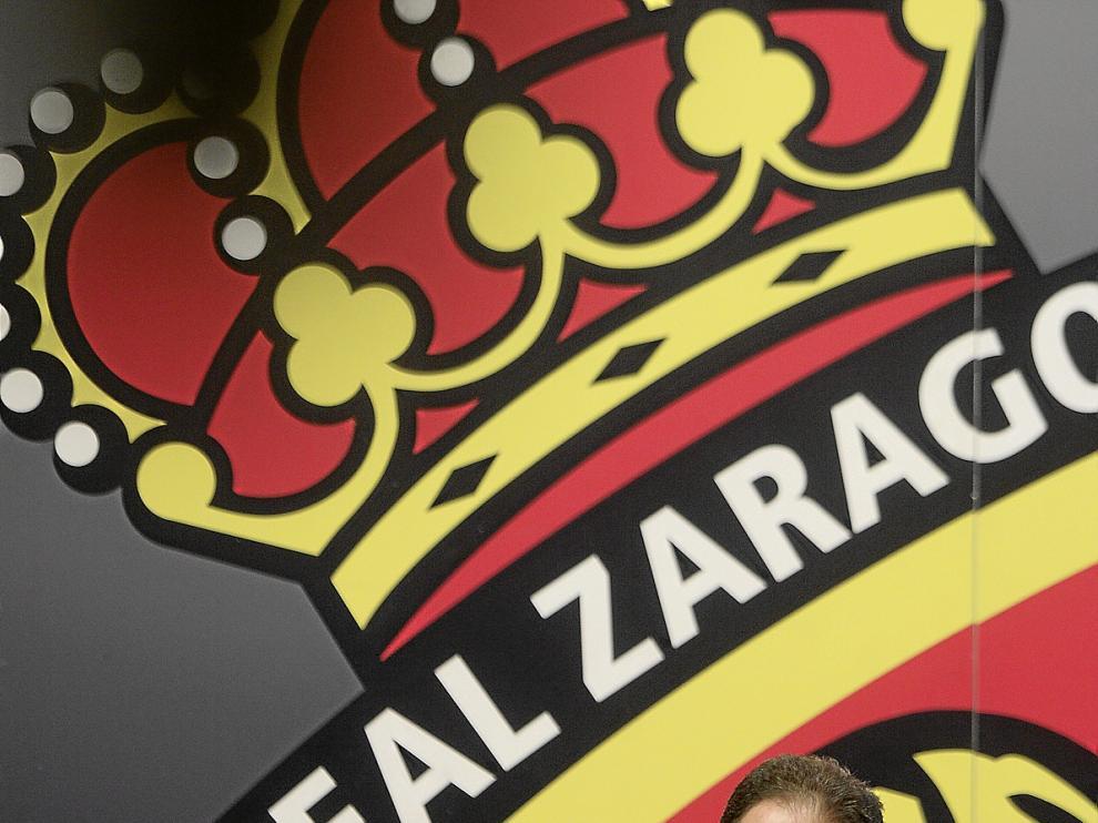 Agapito Iglesias, máximo accionista del Real Zaragoza