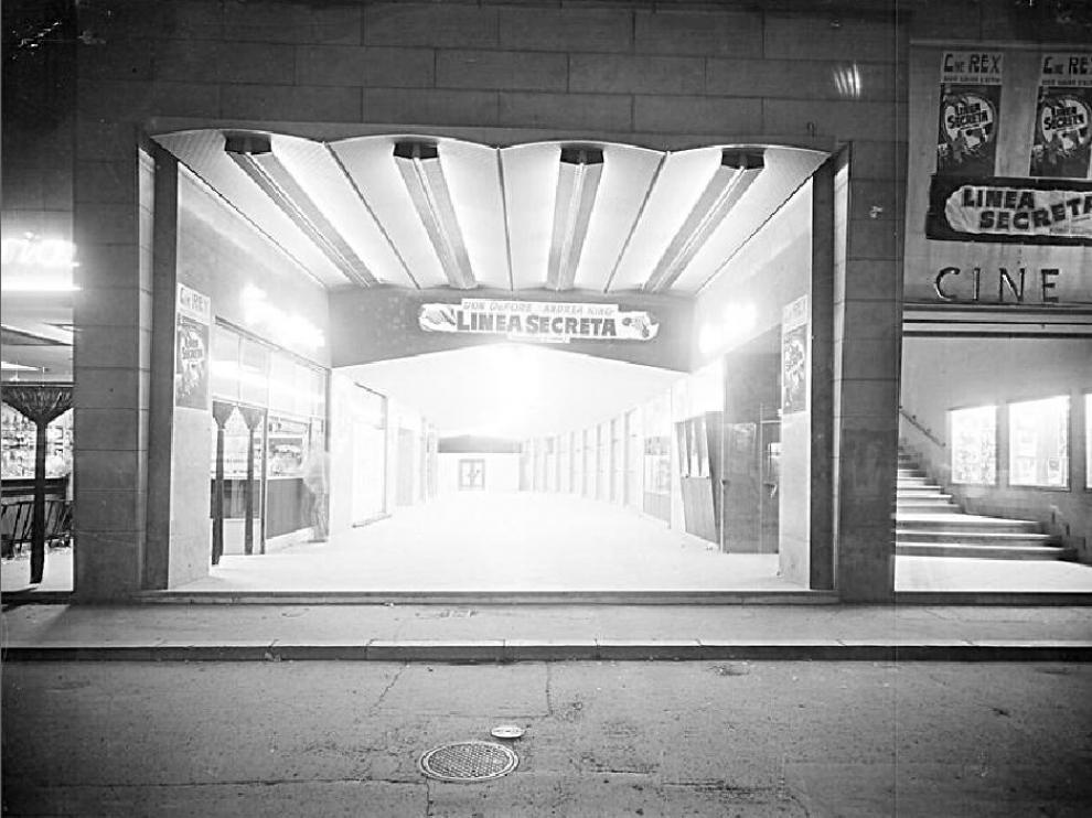 El cine Rex, en Zaragoza