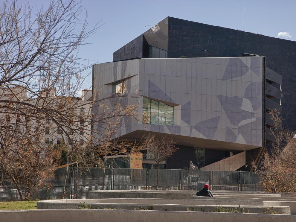 El edificio del Caixaforum
