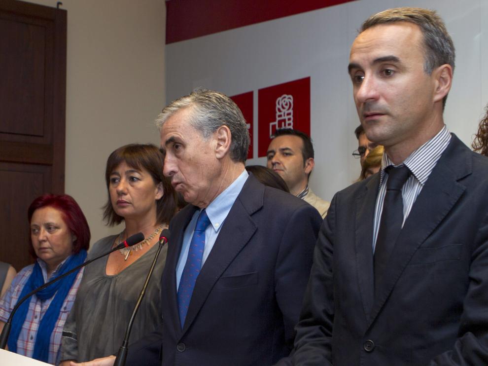 Acto de Ramon Jáuregui este martes