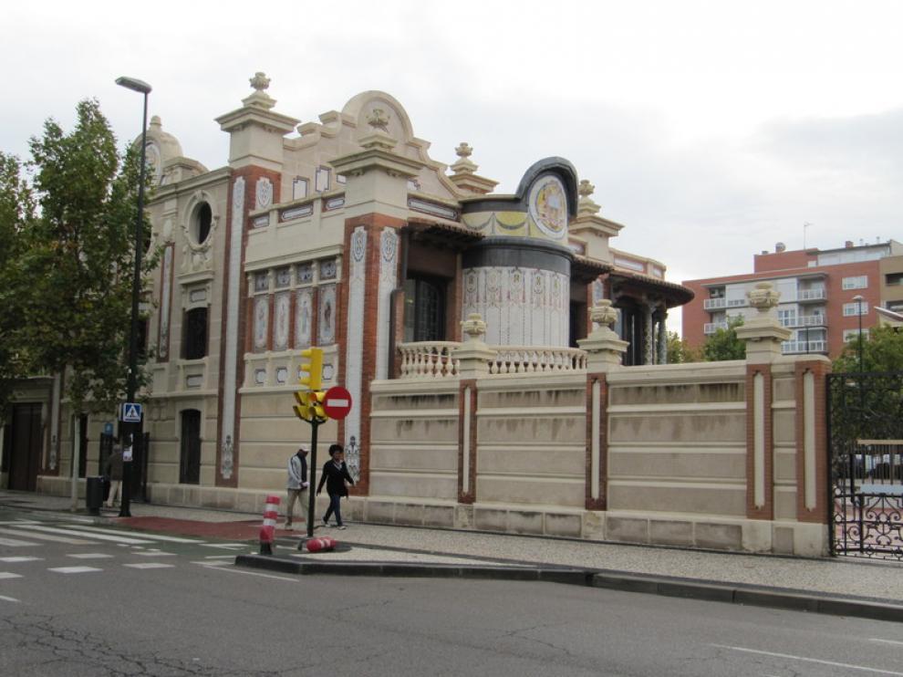 La Casa Solans, sede de la oficina.