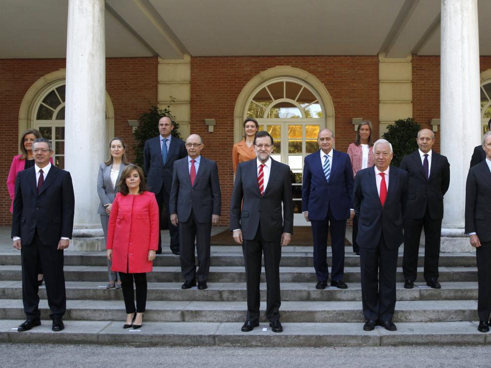 El nuevo equipo de Gobierno, al completo