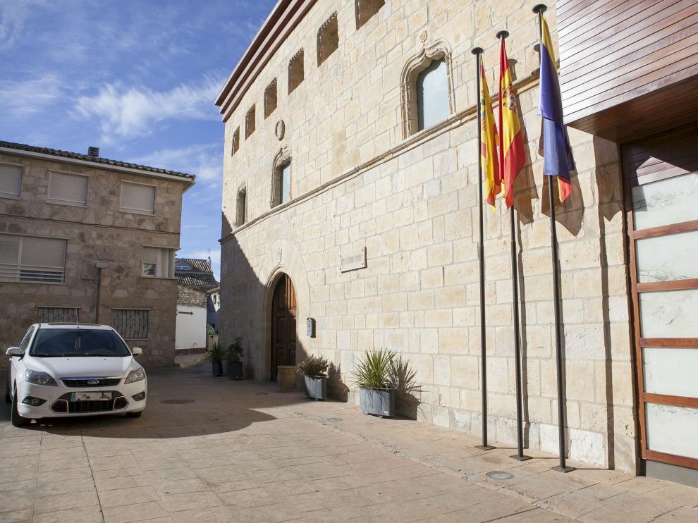 Fachada del Ayuntamiento de La Muela
