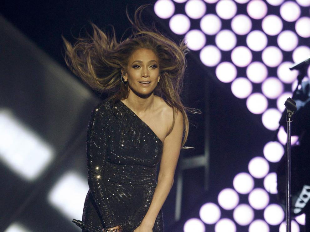 Actuación de Jennifer López en la gala de los Billboard