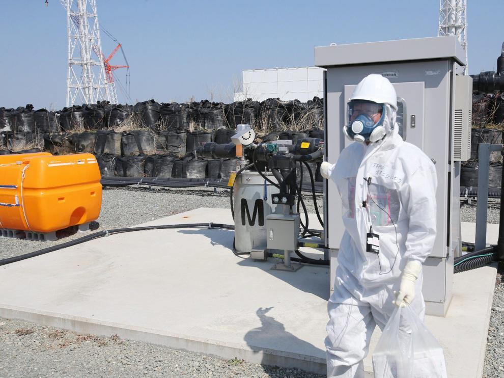 Trabajos de descontaminación en Fukushima