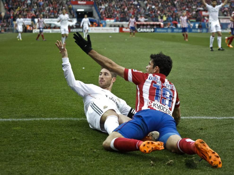 Sergio Ramos y Diego Costa pelearán por la Champions