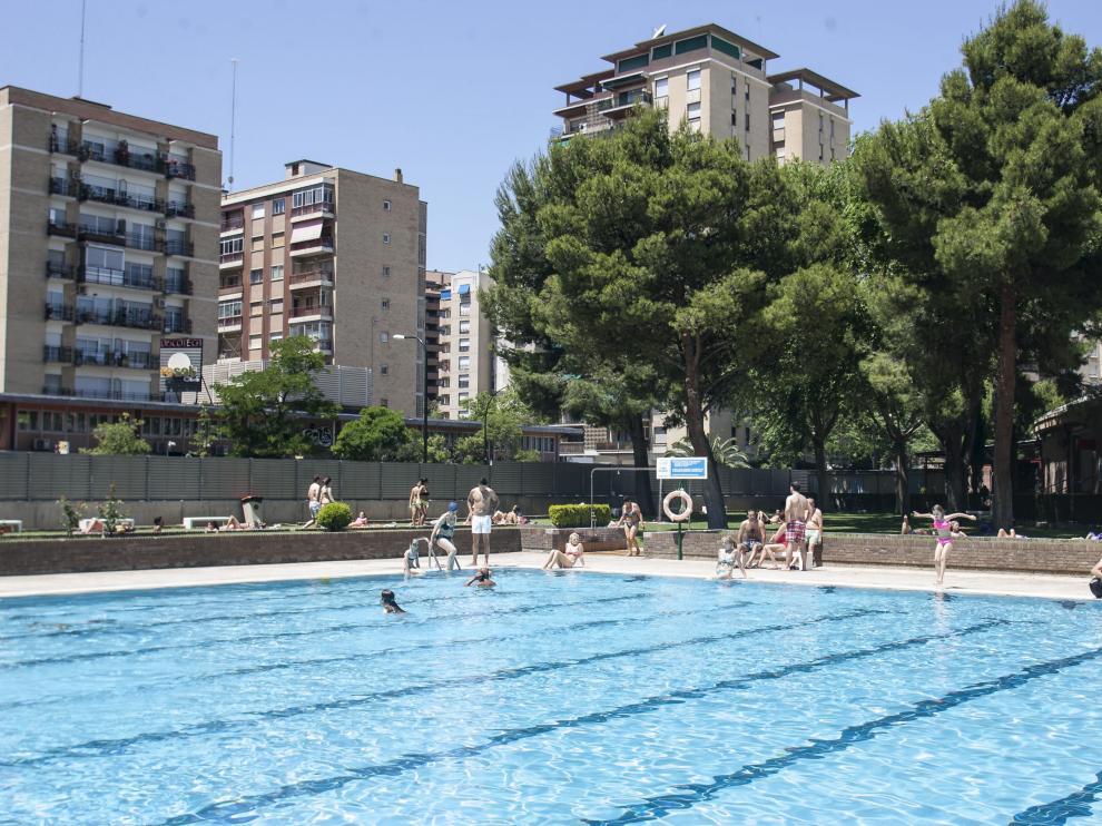 Imagen de archivo de la piscina de 'El Huevo'
