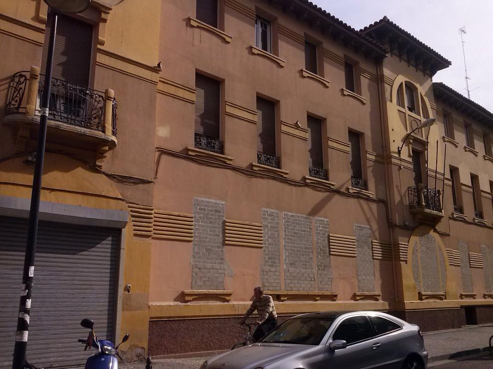 El antiguo hospital San Jorge de Zaragoza