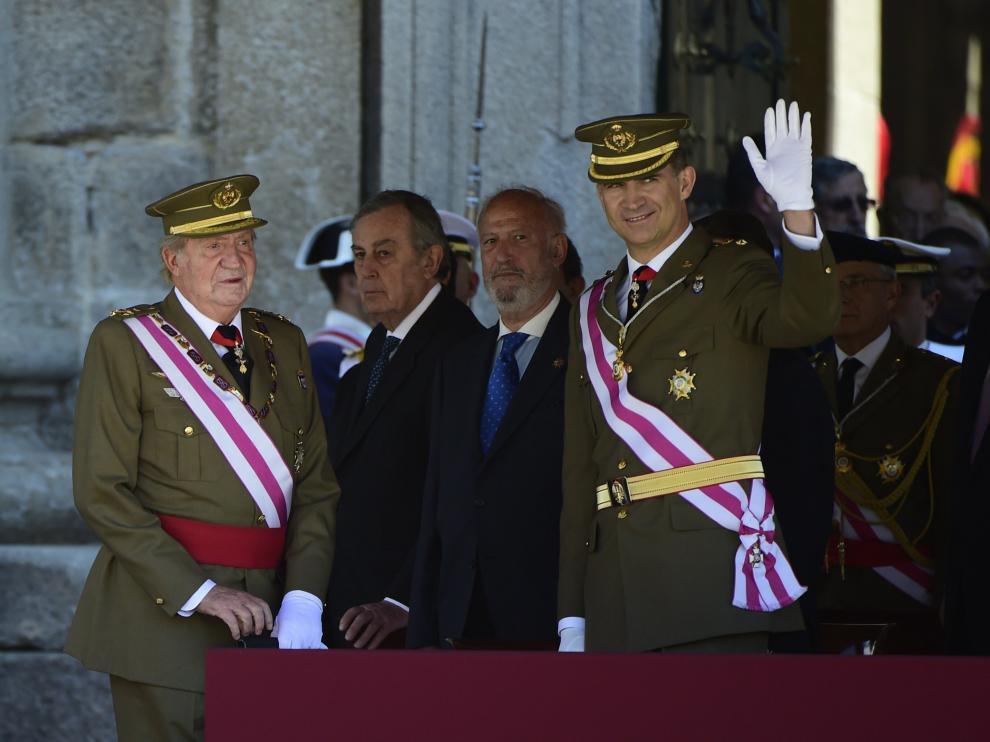 El Rey y el Príncipe, juntos en público tras la abdicación