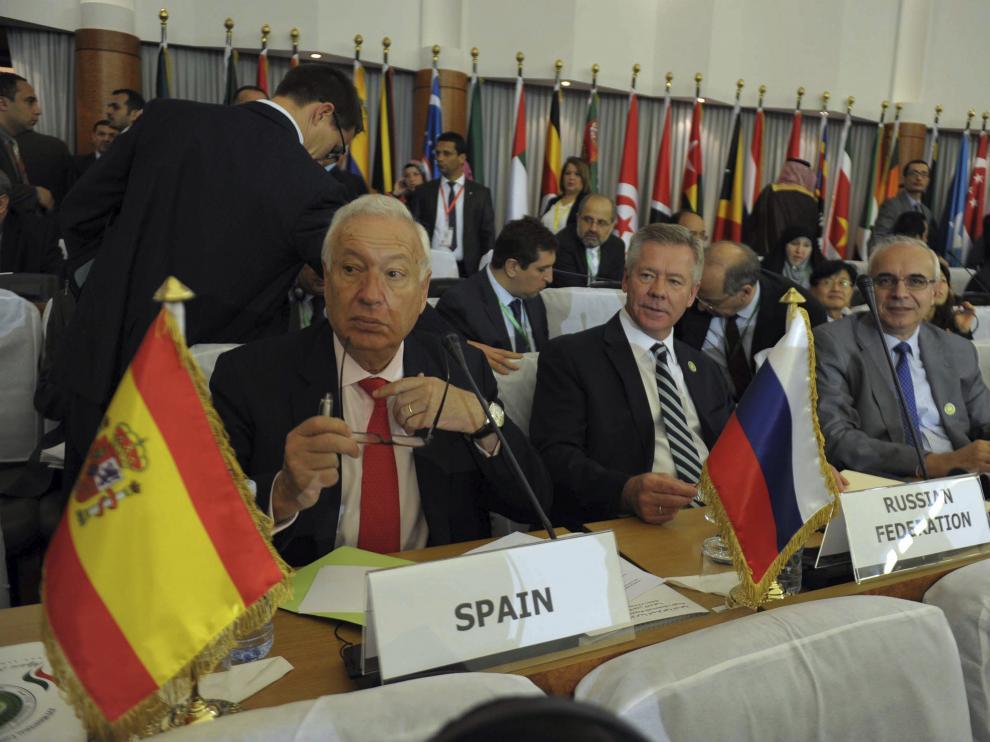 El ministro de Asuntos Exteriores español, José Manuel García Margallo
