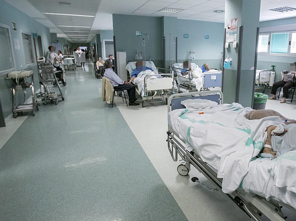 Foto de archivo del servicio de Urgencias del hospital Miguel Servet de Zaragoza.