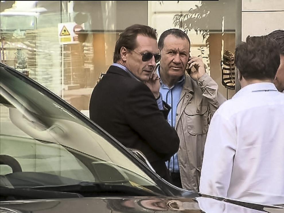 Compradores del Real Zaragoza, en Madrid