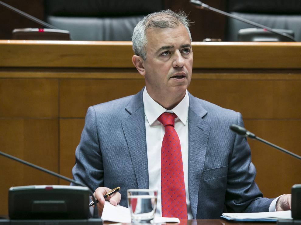 El consejero de Hacienda, Javier Campoy